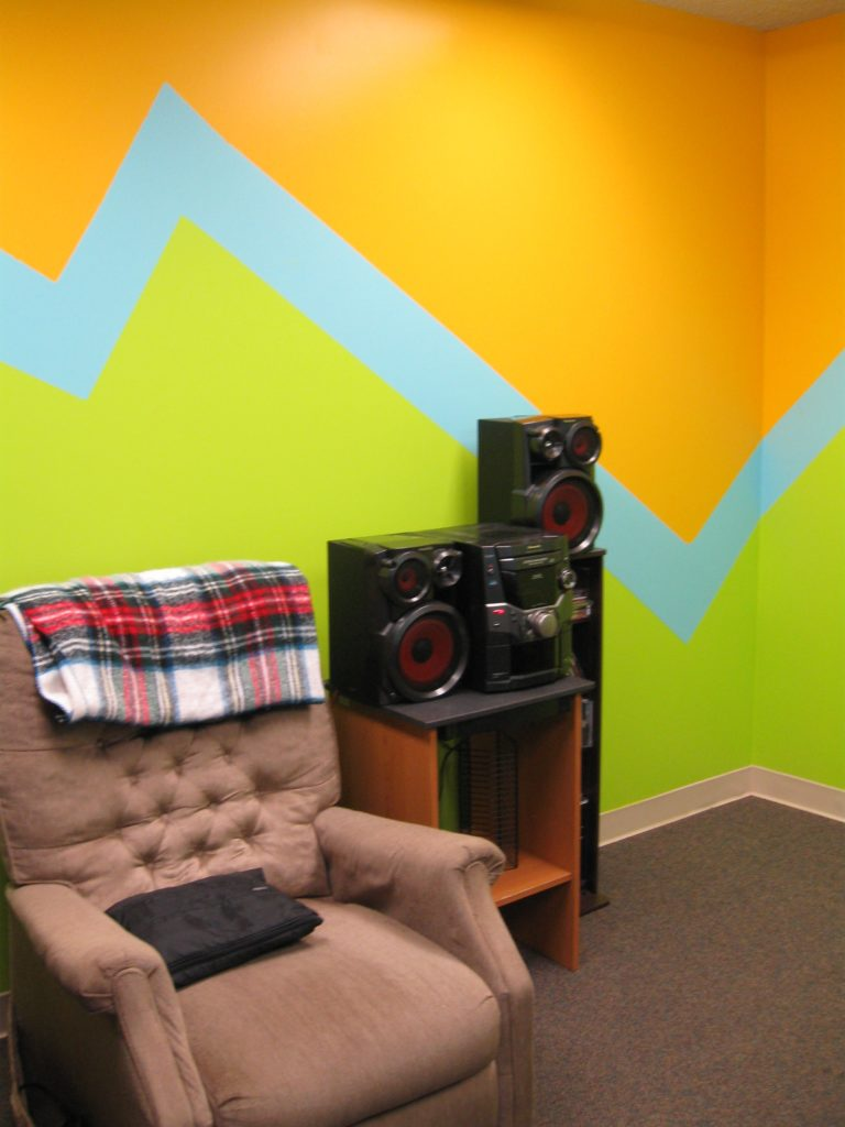 Church Youth Room Painting Ideas